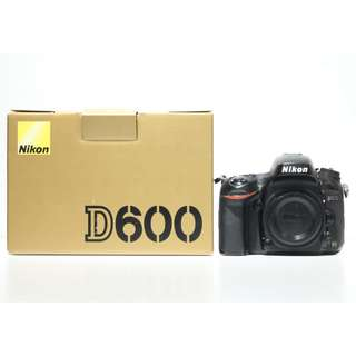 Nikon D600 DSLR Body Only (SC: 90K+)
