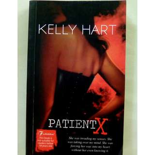 Red Room Book by Kelly Hart: PATIENT X