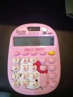 Hello Kitty Calculator Ready Stock
