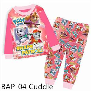 Paw Patrol Long sleeve Pajamas BAP-04