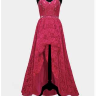 PINK GOWN (VERONIQUE) - Gown For Rent