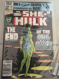 Marvel She-Hulk #25 1982
