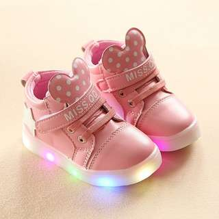 LED Shoes for Girls (Orig price: P800.00)