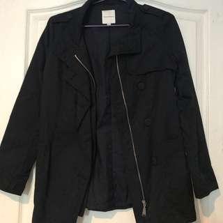 Metersbonwe womens coat jacket. navy. Small. Srp 2k