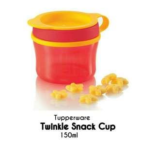 Tupperware Twinkle Snack Cup