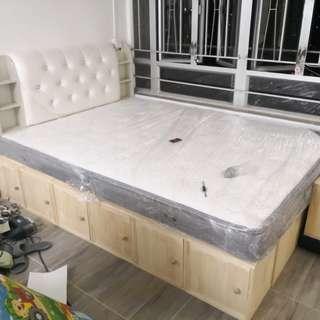 全新訂造地櫃床