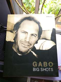 Gabo Big Shots - Photography Book