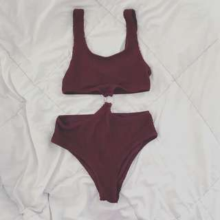H&M Cut Out Maillot