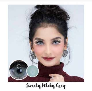 Softlense gray & coklat