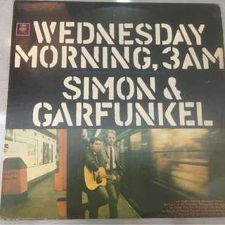 Simon & Garfunkel – Wednesday Morning, 3 A.M., Vinyl LP, CBS – CS 9049, 1964, USA