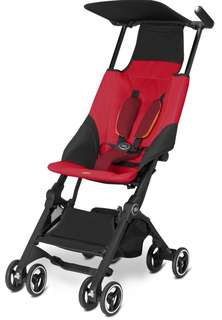 GB POCKIT STROLLER - DRAGONFIRE RED ( NON RECLINABLE)