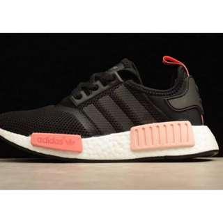Adidas NMD Black / Peach Pink