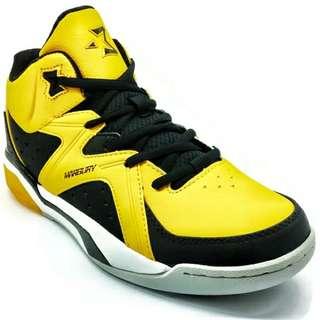 361 Degrees Starbury Basketball Lifestyle Shoes (Yellow/Black)