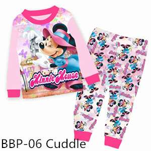 Minnie Mouse Long sleeve Pajamas BBP06