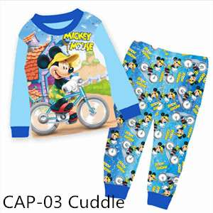 Mickey Mouse long sleeve Pajamas CAP03