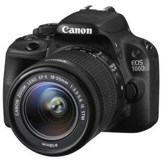 Kamera Canon Eos 100D bisa di Kredit Cepat