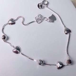 Genuine 925 Sterling Italy Silver Bracelet
