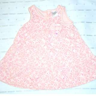 Charity Sale! Baby Girl Pink Ribbon Dress size 3-6 months