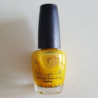 OPI Lemonade Stand By Your Man NLD22 (Follower's Sale)