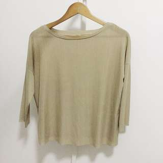 Light Olive Green Top