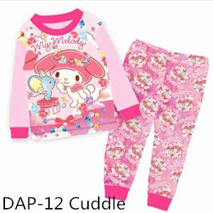 My Melody Long sleeve girl pajamas