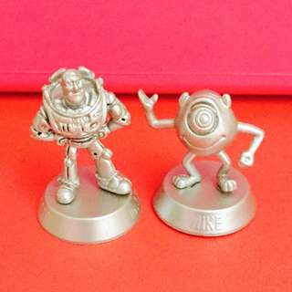 Disney Magical Miniatures - Buzz and Mike
