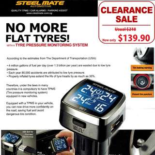 [Clearance Sale] STEELMATE TPMS TP-77E ONLINE SALE! FREE REGISTERED MAIL Cut throat Suicide Sale!