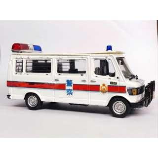 1:43 香港皇家警察巡邏警車 小飛象 自改港產片版