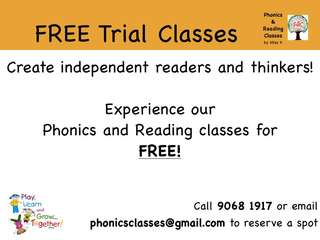 Phonics & Reading Classes
