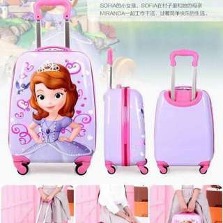 Kids trolley luggage suitcase bag