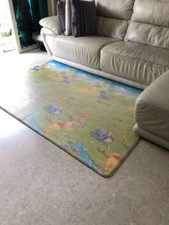 Pre-loved - Original LG Playmat from Korea ( Pooh Bear Design )