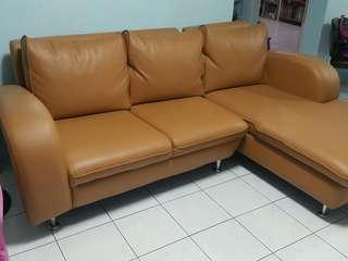 MOVE OUT RUSH SALE! 2nd hand Big L-Shaped Sofa Set