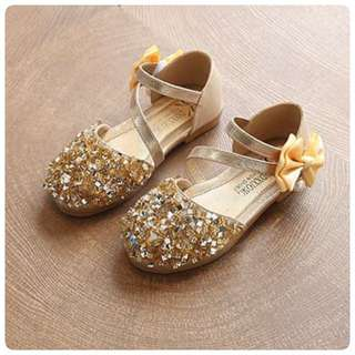 Shoes princess glitter gold