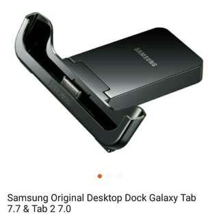 BISA BARTER 🌼 Dock Charger Samsung Tab 2. 7 inch