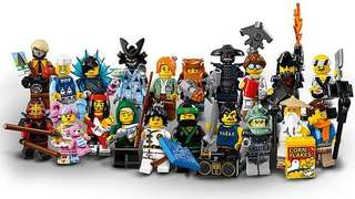 Lego 71019 Ninjago Movie - Complete set