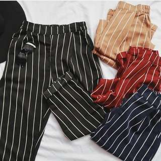 Pants stripe zara