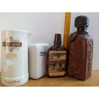 Vintage Wine Bottle and Whisky Pitcher - Take All