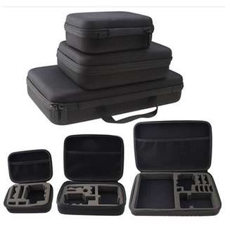 Action camera storage bag S/M for SJCAM EKEN XIAOYI GOPRO