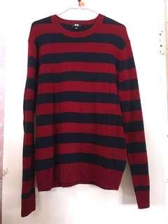Uniqlo wool sweater 羊毛 毛衣 英倫