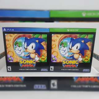 (Brand New) PS4/Xbox One Sonic Mania [Collector's Edition]