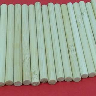 (Art and Crafts) Wooden Sticks Small (40 pieces for $7.50 Including free Singapore Normal Mail)