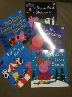 Peppa Pig English 5 books