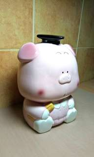 Huge Vintage Piggy Bank