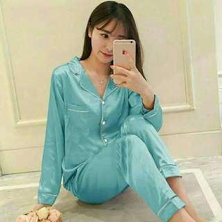 JB pajamas satin tosca PP 95.000 bahan satin.fit to L