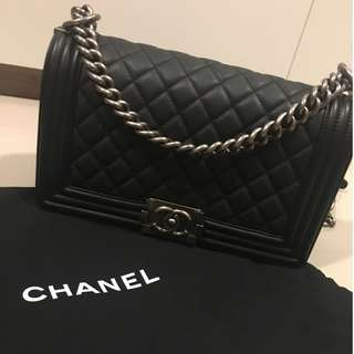 Chanel Boy Authentic 100%