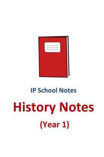 2016 RGS Y1 History Notes / not exam papers / school notes / IP / Integrated Programme / Sec 1 / Raffles Girls School