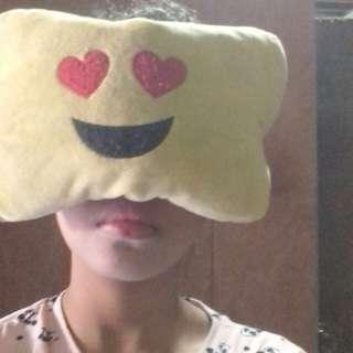 Emoticon Neck Pillow