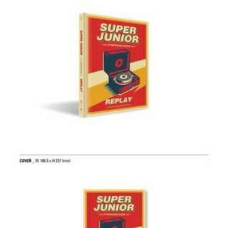 Super Junior - Replay (Normal Edition)