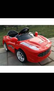 BN [Ride on] ferrari kid ride on electric car toy car