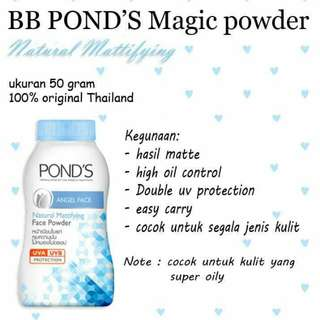 BB PONDS ANGEL FACE BIRU